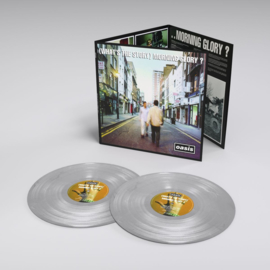 Oasis - Whats The Story Morning Glory 2LP - Silver Vinyl-