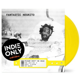 Fantastic Negrito Please Don't Be Dead LP - Yellow Viny-