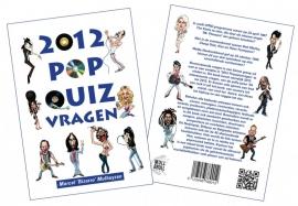 2012 Popquizvragen Boek