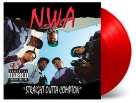 N.W.A Straight Outta Compton LP - Red Vinyl-
