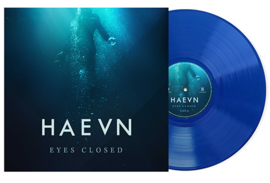Haevn Eyes Closed LP -Blue Vinyl- Gesigneerd