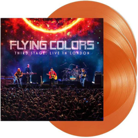 Flying Colors Third Stage:Live In London 3LP - Orange Vinyl-