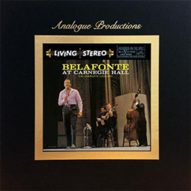 Harry Belafonte Belafonte at Carnegie Hall - The Complete Concert 200g 45RPM 5LP Box Set