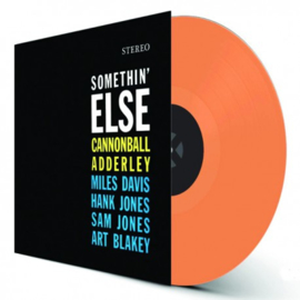 Cannonball Adderley Somethin´ Else  LP - Orange Vinyl-