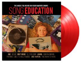 Song Education LP - Red Vinyl-