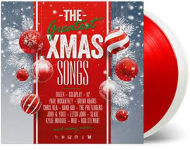 The Greatest Xmas Songs 2LP - Red and White Vinyl-