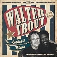 Walter Trout - Luther`s Blues 2LP