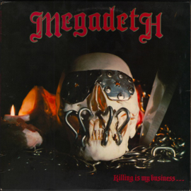 Megadeth Killing Is My Business LP
