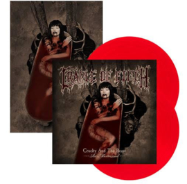 Cradle Of Filth Cruelty and the Beast 2LP - Red Vinyl