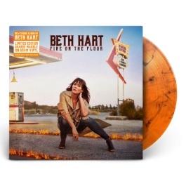 Beth Hart Fire On The Floor LP - Exclusieve Orange Marbled-