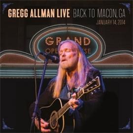 Gregg Allman Gregg Allman Live: Back to Macon, GA 2LP