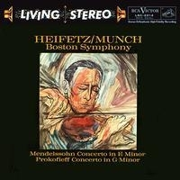 Charles Munch - Mendelssohn: Concerto in E Minor/ Prokofiev: Concerto No. 2 HQ LP