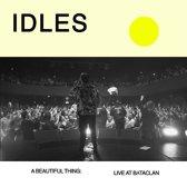 Idles: A Beautiful Thing - Live At Le Bataclan LP - Clear Orange Vinyl-