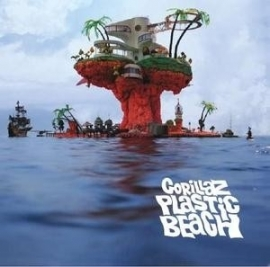 The Gorillaz Plastic Beach 2LP