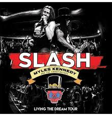Slash / Kennedy, Myles And The Conspirators Living The Dream Tour 2CD + Blu-Ray