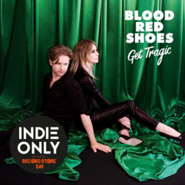 Blood Red Shoes Get Tragic LP - Coloured Vinyl-