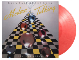Modern Talking Let's Talk About Love LP - Red Vinyl-