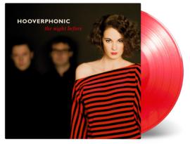 Hooverphonic Night Before LP - Red Vinyl-