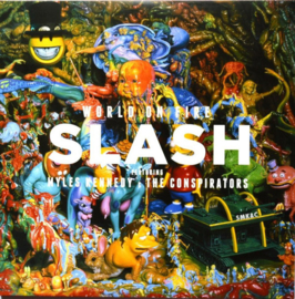 Slash World On Fire 2LP