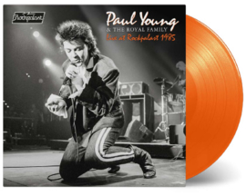Paul Young & The Royal Family Live At Rockpapast 1985 LP - Orange Vinyl-