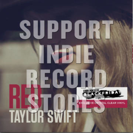 TAYLOR SWIFT Red 2LP - Red Vinyl-
