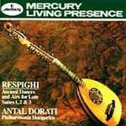 Respighi Ancient Dances And Airs For Flute LP