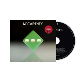 Paul McCartney III CD - Green Cover-
