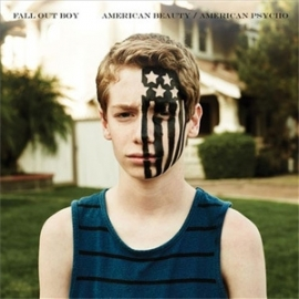 Fall Out Boy American Beauty/American Psycho LP (Translucent Blue Vinyl)