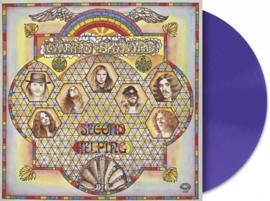 Lynyrd Skynyrd Second Helping LP - Purple Vinyl-