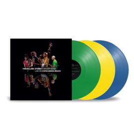 Rolling Stones A Bigger Bang - Live On Copacabana Beach 3LP - Coloured Vinyl-