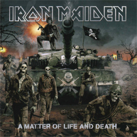 Iron Maiden A Matter of Life and Death 180g 2LP