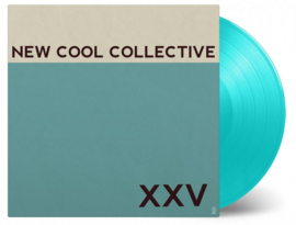 New Cool Collective Xxv LP - Turquoise Vinyl-