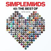 Simple Minds Forty: The Best Of Simple Minds 1979-2019 2LP - Silver Vinyl-