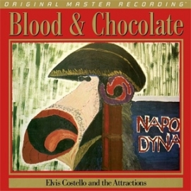 Elvis Costello & The Attractions Blood & Chocolate HQ LP