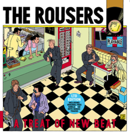 The Rousers A Treat Of New Beat LP + CD