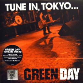 Green Day Tune In Tokyo LP - Blue Vinyl-