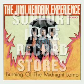 THE JIMI HENDRIX EXPERIENCE Burning of the Midnight Lamp Mono EP