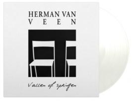 Herman Van Veen Vallen Of Springen LP - WIt Vinyl-