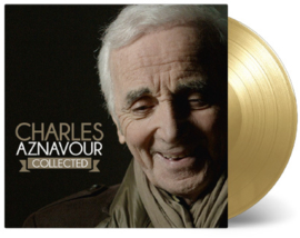 Charles Aznavour Collected 3LP - Gold Vinyl-