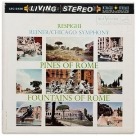 Respighi - Pines Of Rome & Fountains Of Rome HQ LP
