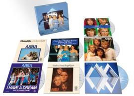 """Abba Coloured 7""""singles Boxset 7 x 7'"""