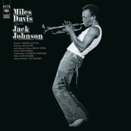 Miles Davis A Tribute To Jack Johnson LP