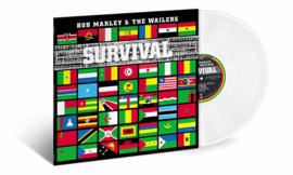 Bob Marley Survival LP - Clear Vinyl-