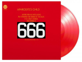 Aphrodite's Child 666 2LP - Red Vinyl-