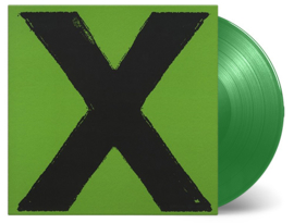 Ed Sheeran X 2LP - Green Vinyl-