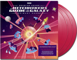 The Hitchhikers Guide To The Galaxy: Primary Phase 180g 3LP (Red Vinyl)