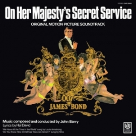 James Bond: On Her Majesty's Secret Service Soundtrack 180g LP