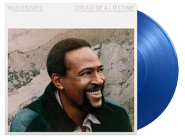 Marvin Gaye Dream Of A Lifetime LP - Blue Vinyl-