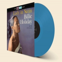 Billie Holiday Lady In Satin - Blue Vinyl-