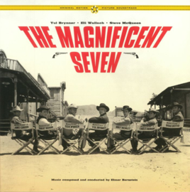 Elmer Bernstein Magnificent Seven LP - Yellow Vinyl-